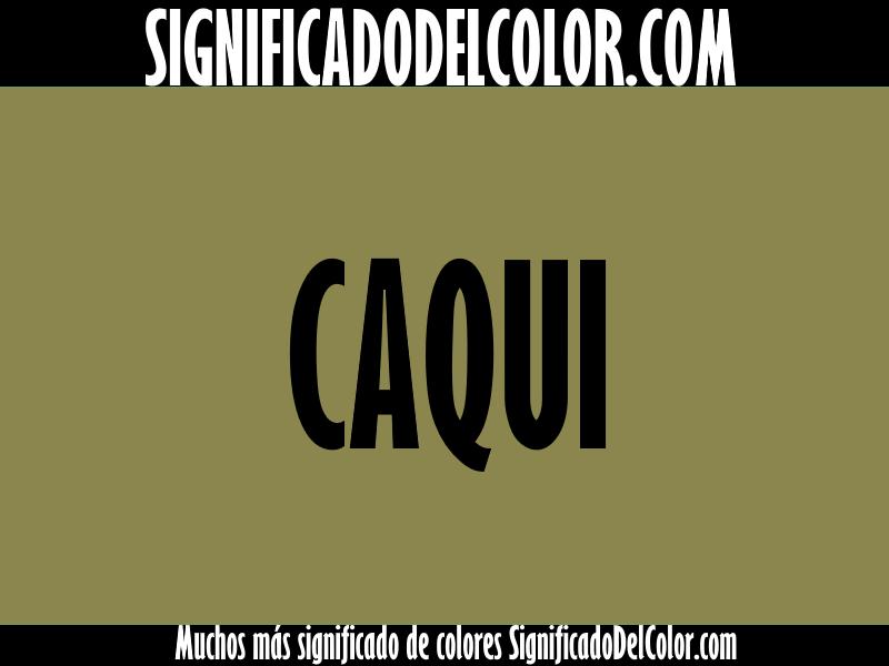 Cual es el color caqui como es el color caqui ejemplo - Cual es el color turquesa ...