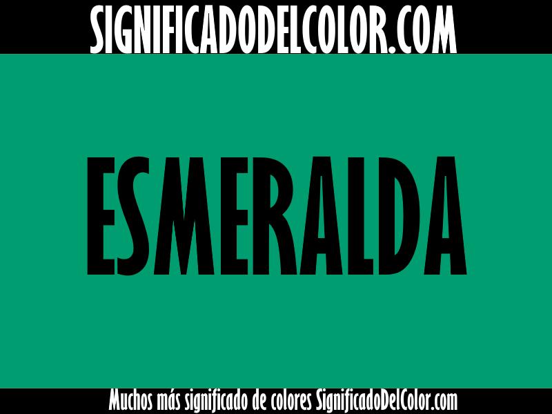 Cual es el color verde esmeralda como es el verde esmeralda - Cual es el color turquesa ...