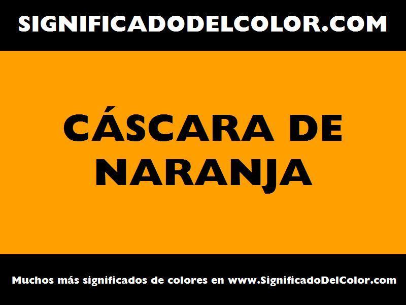 Cual es el color c scara de naranja como es el color - Cual es el color turquesa ...
